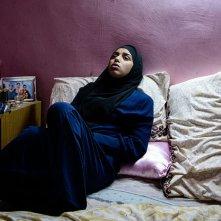 Layla M.: Nora El Koussour in una scena del film