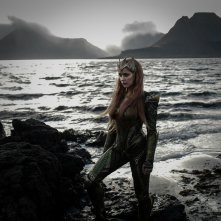 Justice League: Amber Heard in una foto del film