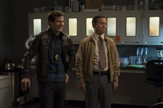 Brooklyn Nine-Nine: Andy Samberg e Joe Lo Truglio in The Night Shift