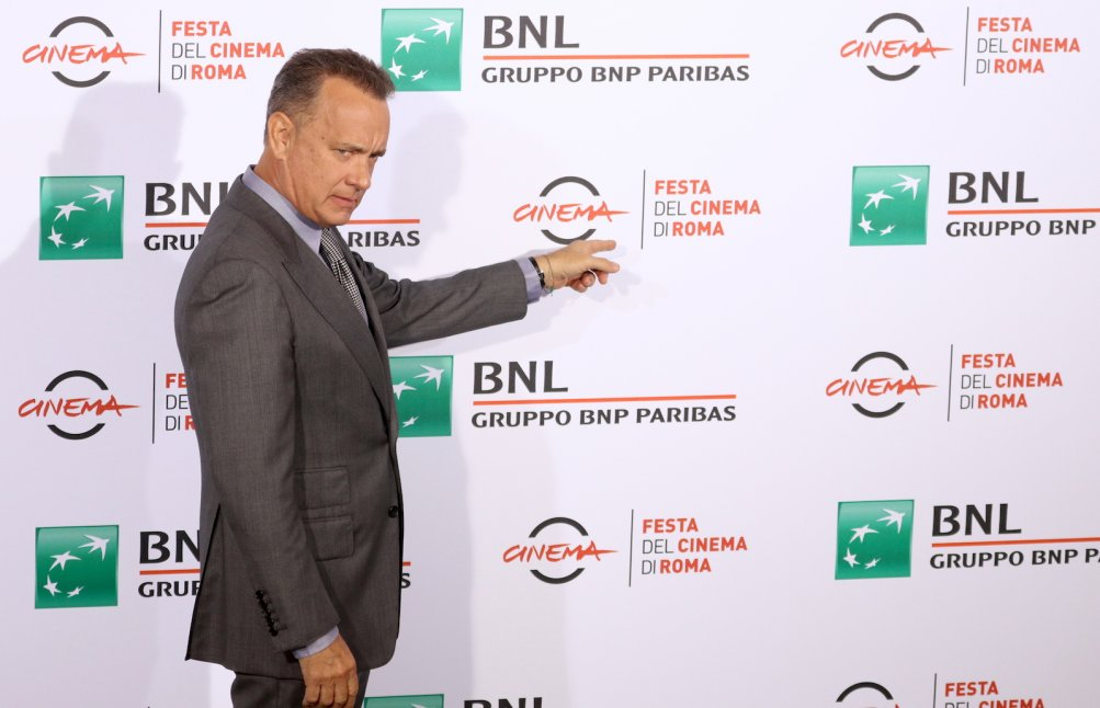 Roma 2016: Tom Hanks entra al photocall