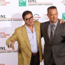 Roma 2016: Tom Hanks e Antonio Monda al photocall