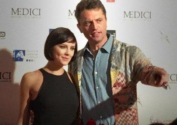 Medici: Guido caprino e Annabel Scholey a Firenze alla premiere