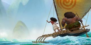 Oceania: una scena suggestiva del film