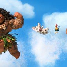 Oceania: un'immagine del film Disney