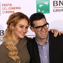 Roma 2016: Grace Van Patten ed Adam Leon al photocall di Tramps