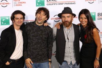 Roma 2016: Maccio Capatonda, Francesco Mandelli, Herbert Ballerina, Barbara Tabita al photocall di Mariottide