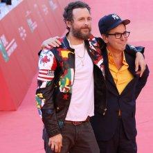 Roma 2016: Jovanotti e Antonio Monda sul red carpet