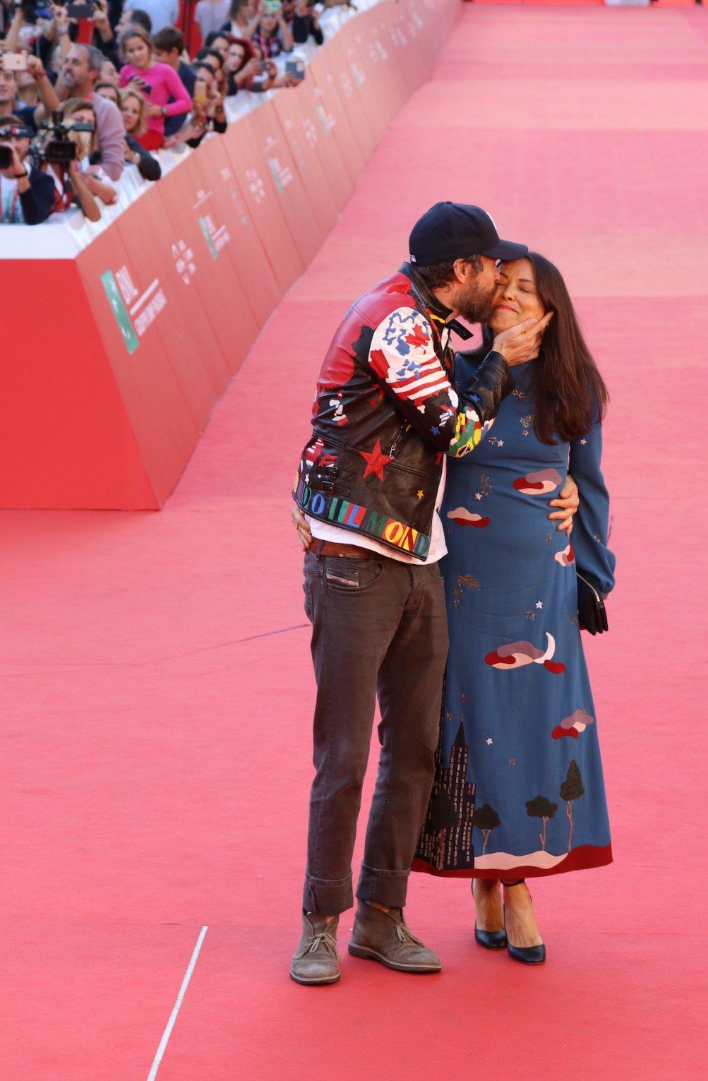 Roma 2016: Jovanotti con sua moglie sul red carpet
