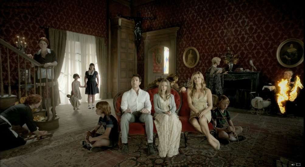 American Horror Story, il cast della prima stagione