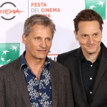 Roma 2016: Matt Ross e Viggo Mortensen al photocall di Captain Fantastic