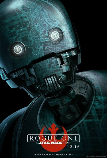 Rogue One: il character poster di K-2SO