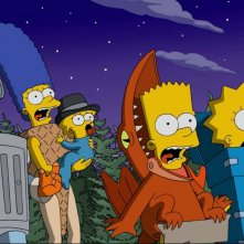 I Simpson: una foto di Treehouse of Horror XXVII