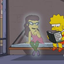 I Simpson: Lisa e la sua amica immaginaria in Treehouse of Horror XXVII
