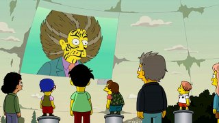 I Simpson: una scena di Treehouse of Horror XXVII ispirata a Hunger Games