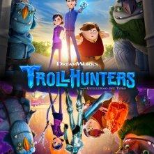 Trollhunters: la locandina della serie