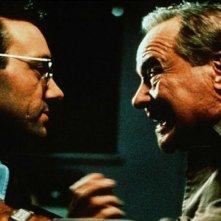 Kevin Spacey e Jack Lemmon in una scena del film Americani