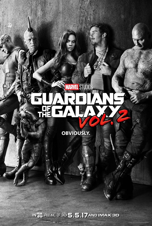 Guardiani della Galassia 2: il poster del film