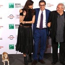 Roma 2016: Karen di Porto e Antonio Monda al photocall di Maria per Roma