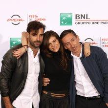 Roma 2016: Karen Di Porto, Cyro Rossi, Nicola Mancini al photocall di Maria per Roma