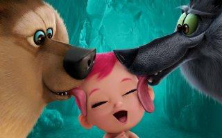 Cicogne in missione: i simpatici lupi del film