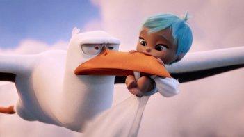 Cicogne in missione: un'immagine del film d'animazione
