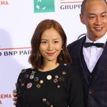 Roma 2016: gli attori Peter Yun Tung Ho, Jiang Yiyan al photocall di Sword Master
