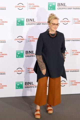 Roma 2016: Meryl Streep al photocall di Florence Foster Jenkins