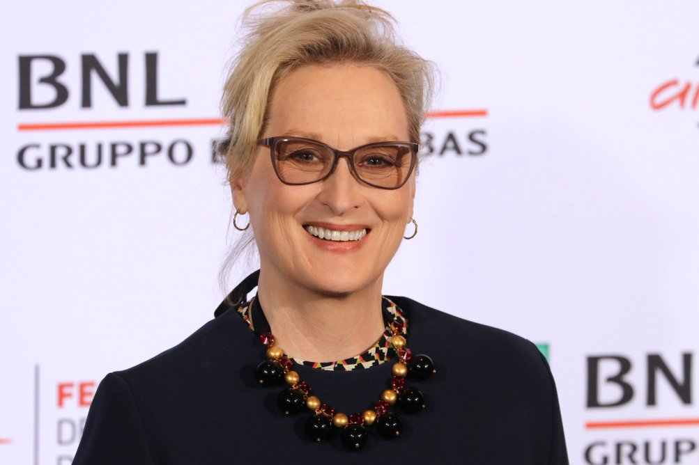Roma 2016: Meryl Streep sorridente al photocall di Florence Foster Jenkins