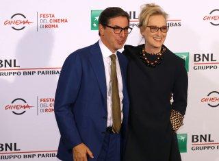 Roma 2016: Meryl Streep e Antonio Monda al photocall di Florence Foster Jenkins