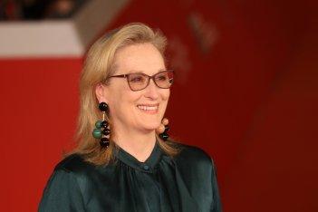Roma 2016: un primo piano di Meryl Streep sul red carpet di Florence Foster Jenkins