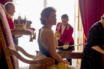 The Crown: un'immagine di Claire Foy