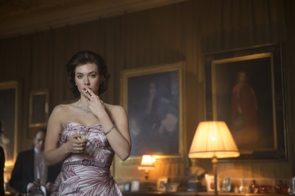 The Crown: l'attrice Vanessa Kirby interpreta la principessa Margaret