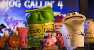 Sausage Party - Vita segreta di una salsiccia: una scena del film d'animazione