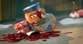 Sausage Party - Vita segreta di una salsiccia: una scena del film animato