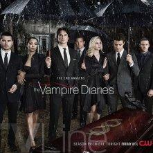 The Vampire Diaries. il poster dell'ottava stagione