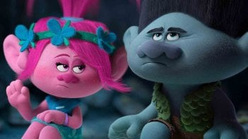 Trolls: una scena del film d'animazione