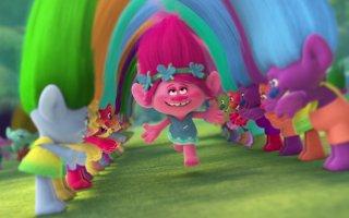 Trolls: un'immagine tratta dal film d'animazione
