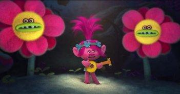 Trolls: un'immagine del film d'animazione