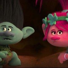 Trolls: un momento del film animato