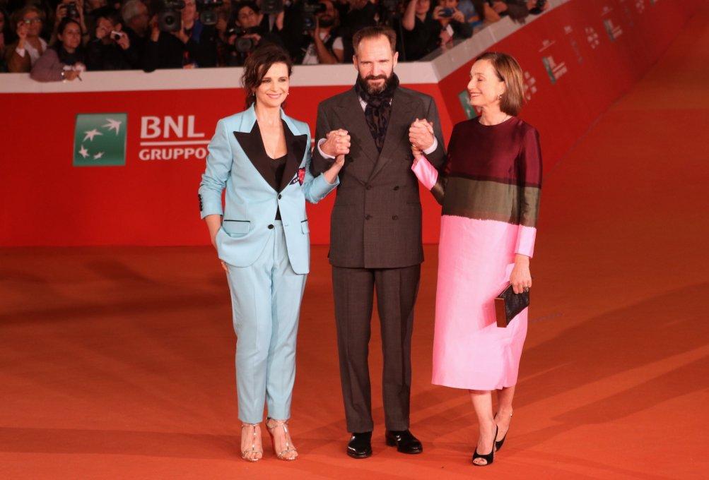 Roma 2016: Ralph Fiennes, Juliette Binoche e Kristin Scott Thomas sul red carpet de Il paziente inglese