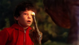 E.T. l'extraterrestre - una scena del film