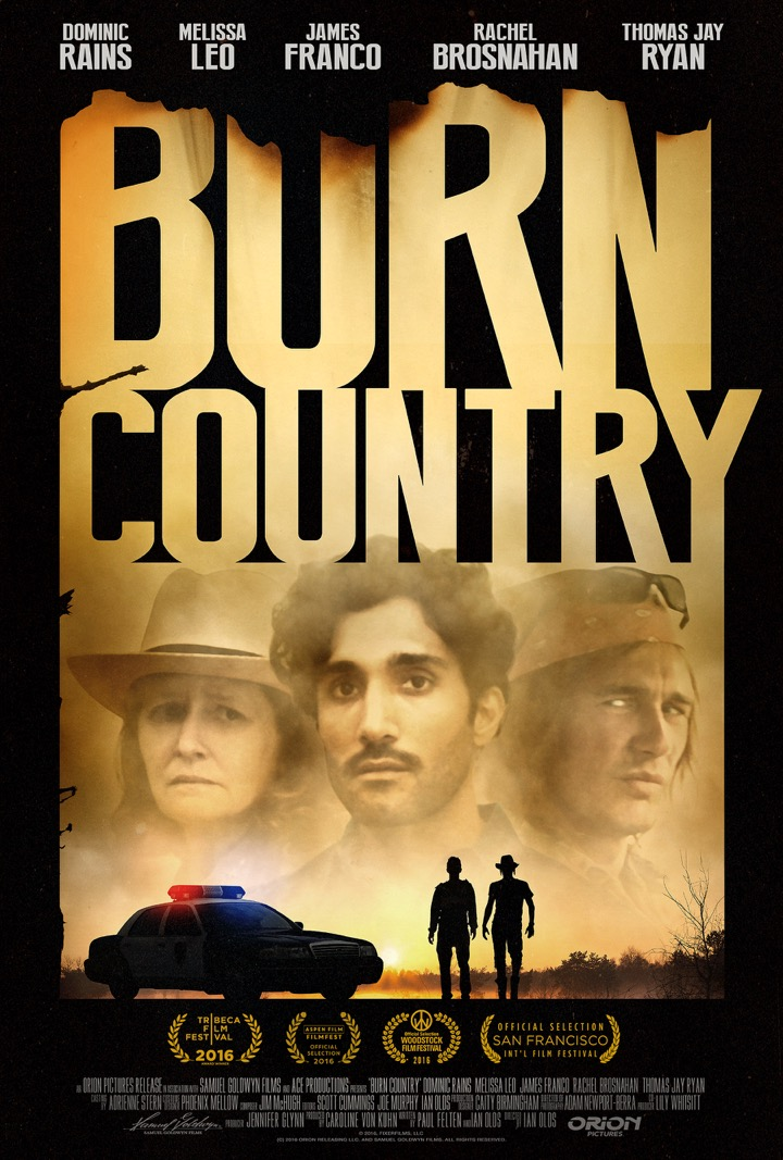 Locandina di Burn Country