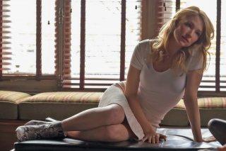 La ragazza del treno: Haley Bennett in una scena del film