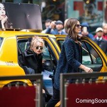 Ocean's Eight: Sandra Bullock e Helena Bonham-Carter sul set