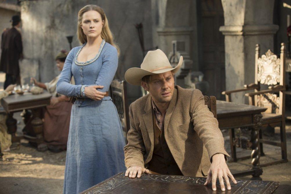Westworld: Evan Rachel Wood e Luke Hemsworth in Contrapasso