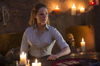 Westworld: una foto dell'attrice Evan Rachel Wood nella puntata Contrapasso