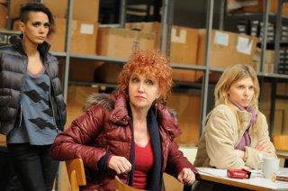 7 minuti: Erika D'Ambrosio, Fiorella Mannoia e Clémence Poésy in una scena del film