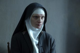 Agnus Dei: Agata Buzek in una scena del film