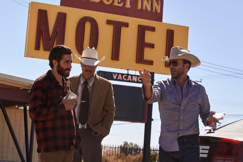 Animali notturni: Tom Ford, Jake Gyllenhaal e Michael Shannon sul set del film