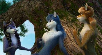 Bianca & Grey e la pozione magica: un momento del film animato